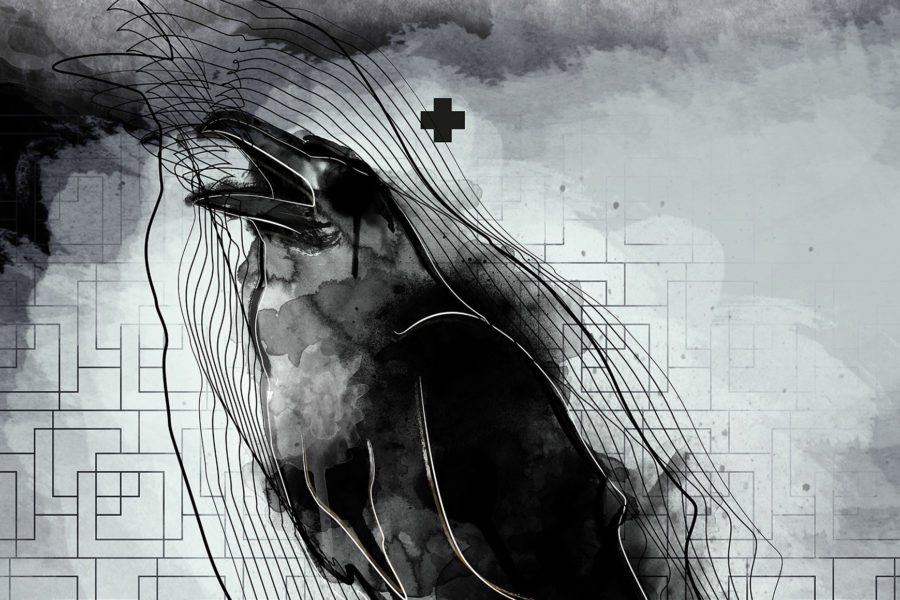 inside… crow